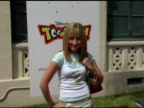 Ashley Tisdale at the Disney's Toontown Online Takes Hollywood at the Hollywood Athletic Club in Hollywood California on August 21 2004