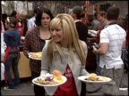 ashley tisdale at the Los Angeles Mission Thanksgiving at Downtown in Los Angeles California on November 23 2005