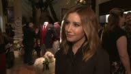 INTERVIEW Ashley Tisdale on why she wanted to celebrate the holidays with Brooks Brothers and St Jude where she will be spending the holidays if her...