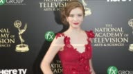 Ashlyn Pearce at the 2014 Daytime Emmy Awards at The Beverly Hilton Hotel on June 22 2014 in Beverly Hills California