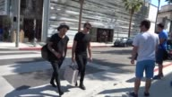 Ashton Irwin shopping in Beverly Hills in Celebrity Sightings in Los Angeles