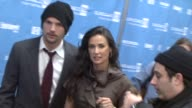 Ashton Kutcher and Demi Moore at the 2009 Sundance Film Festival 'Spread' Premiere at Park City UT