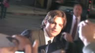 Ashton Kutcher Demi Moore arrive at the No Strings Attached Premiere in Los Angeles at the Celebrity Sightings in Los Angeles at Los Angeles CA