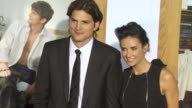 Ashton Kutcher Demi Moore at the 'No Strings Attached' Premiere at Westwood CA