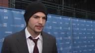 Ashton Kutcher talks about how he just wants to tell stories and how he wants to pass on the spirit of inspired stories at the 2009 Sundance Film...