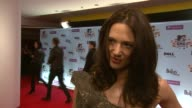 Asia Argento on how she's feeling on what she's doing at the awards on not knowing anything about her category on the things that can happen at MTV...