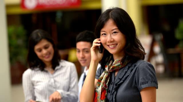 Asian business Personen