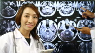 Asian Woman Doctor portrait Hospitals