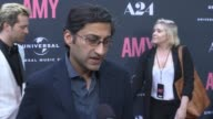 INTERVIEW Asif Kapadia on creating the film on Amy Winehouse what audiences should take away and her music at The US Premiere Of AMY Presented By...