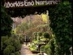 Ken Livingstone studio panel EXT 'James' looks around his 'World's End' nursery
