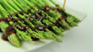 Asparagus and oyster sauce : HD