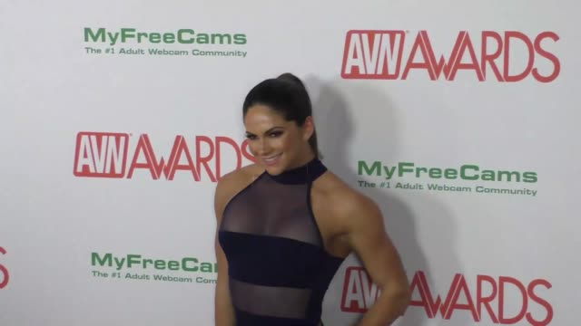 Aspen Rae at the 2017 AVN Awards Nomination Party at Avalon Nightclub in Hollywood at the 2017 AVN Awards Nomination Party at Avalon Nightclub in...