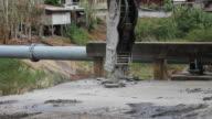 Asphalt breaking bridge