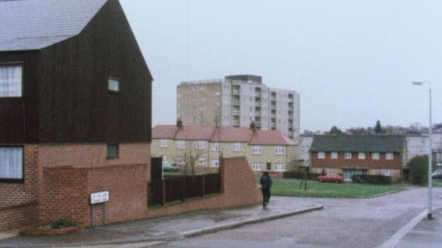 1983 MONTAGE Assisted living, bungalows, and apartment flats / London, England, United Kingdom