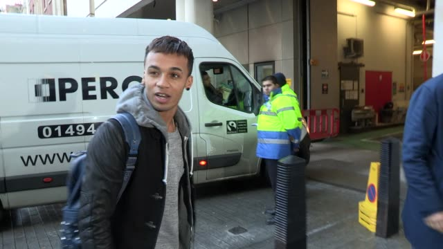 Aston Merrygold at Celebrity Video Sightings on November 04 2013 in London England
