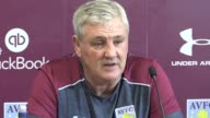 Aston Villa manager Steve Bruce previews Saturday's Championship clash with Nottingham Forest