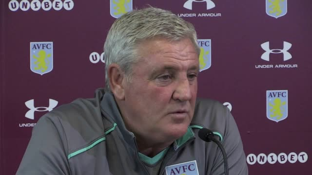 Aston Villa manager Steve Bruce speaks ahead of his side's Championship trip to Barnsley on Saturday