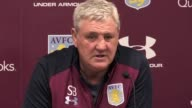Aston Villa manager Steve Bruce speaks ahead of Saturday's SkyBet Championship match against Ipswich at Villa Park