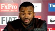 Aston Villa sign Darren Bent Bent press conference SOT