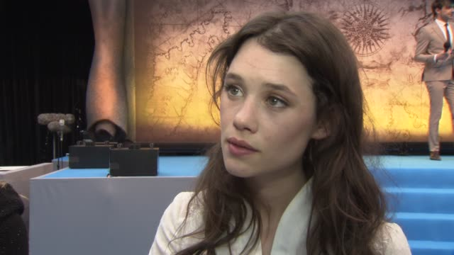 Astrid BergesFrisbey on her character working with Rob Marshall and more at the Pirates of the Caribbean On Stranger Tides UK Premiere at London...