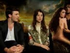 Astrid BergesFrisbey Sam Clafin on playing a mermaid at the Pirates of the Caribbean On Stranger Tides junkets at London England
