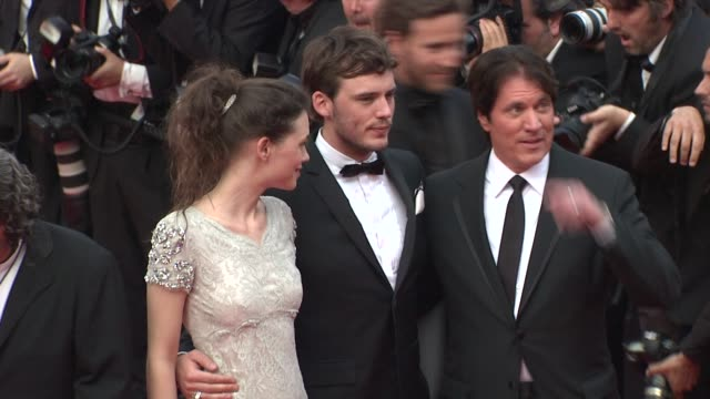 Astrid BergesFrisbey Sam Claflin Rob Marshall at the Pirates of the Caribbean On Strange Tides 64th Cannes Film Festival Red Carpet Arrivals at Cannes