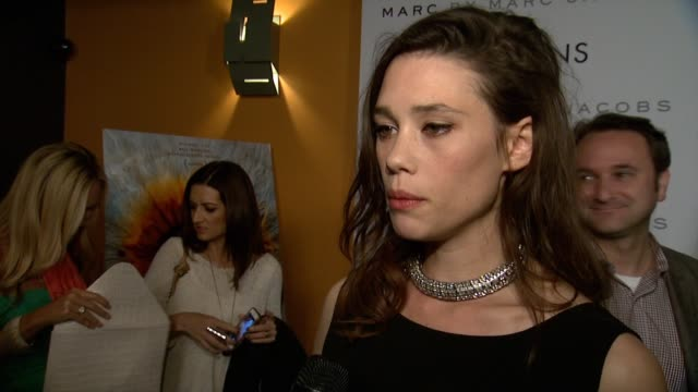 INTERVIEW Astrid BergesFrisbey she speaks about what audiences can expect working on a scifi film that's deeply rooted in love and what drew her to...