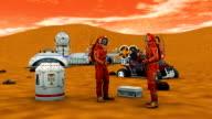 Astronaut Conversation