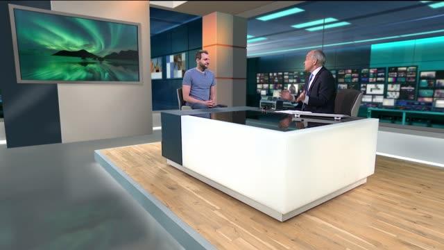 Shortlist released ENGLAND London GIR INT Tom Kerss LIVE STUDIO interview SOT
