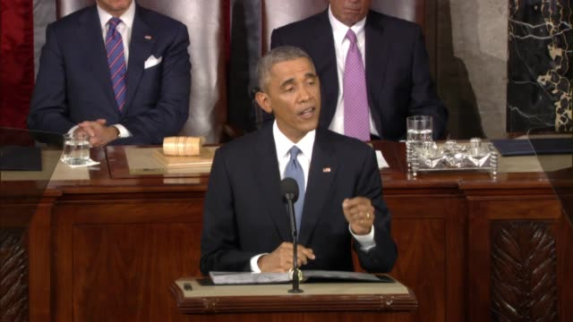 At 2015 State of the Union address President says 'no foreign nation no hacker' should get away with harming Americans