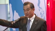 At a joint press conference at a regional security meeting in Malaysia Thai Foreign Minister General Tanasak Patimapragorn makes a surprise...