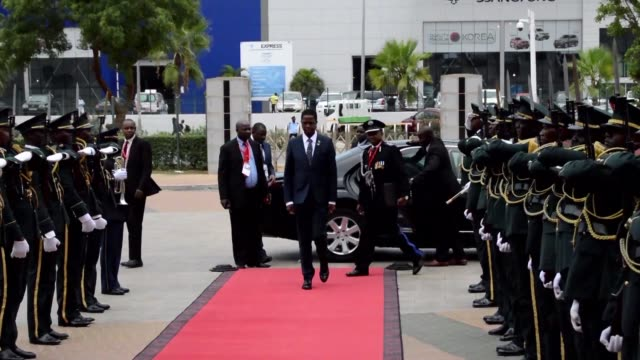 At a meeting of the Southern African Development Community in Luanda on Tuesday South Africa's President Zuma and Angolan President Joao Lourenço...