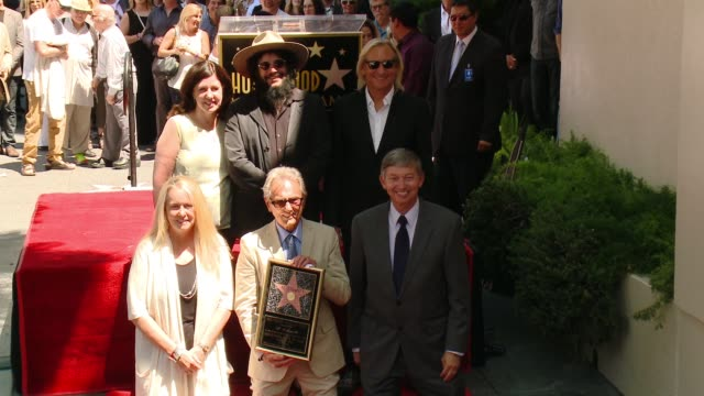 CHYRON at Al Schmitt Honored With Star On The Hollywood Walk Of Fame at Hollywood Walk Of Fame on August 13 2015 in Hollywood California