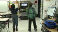 At an elementary school in Virginia teachers turn to the Xbox Kinect to help motivate students with Autism Spectrum Disorder and improve their social...