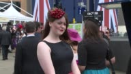 ATMOSPHERE at Ascot Ladies Day at Ascot race course on 19th June 2014 in Ascot England