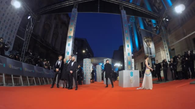 LAPSE at BAFTA 2015 Red Carpet at the Royal Opera House on February 08 2015 in London England