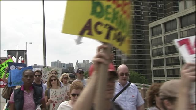 WPIX at Brooklyn Bridge on June 14 2014 in New York City