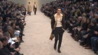 RUNWAY at Burberry London Collections Men AW14 on January 8 2014 in London England
