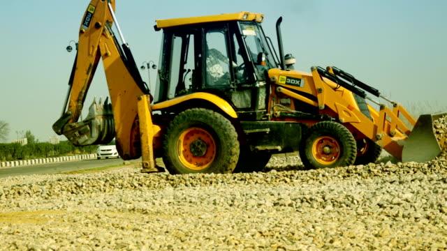 JCB op bouwplaats
