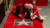 CLEAN at Cyndi Lauper and Harvey Fierstein Honored With Star On The Hollywood Walk Of Fame at Hollywood Walk Of Fame on April 11 2016 in Hollywood...