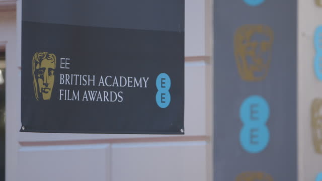 ATMOSPHERE at EE British Academy Film Awards at The Royal Opera House on February 16 2014 in London United Kingdom