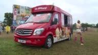 ATMOSPHERE at Glastonbury Sightings on 27th June 2014 at Glastonbury Somerset England