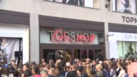 ATMOSPHERE at Kate Moss for Topshop collection launch at TopShop on April 29 2014 in London England