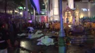 At least 10 people are killed and many injured when a bomb exploded outside a popular religious shrine in Bangkok Thailands police chief says