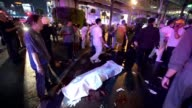 At least 10 people are killed and many injured when a bomb exploded outside a popular religious shrine in Bangkok