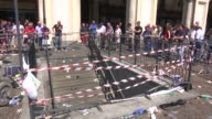 At least 1000 people were injured seven seriously after a bomb scare triggered a stampede among Juventus fans watching he Champions League final in...