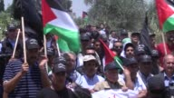 At least 12 Palestinians were wounded on Friday as Israeli forces dispersed rallies marking the 67th anniversary of 'Nakba' in the occupied West Bank...