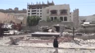 At least 15 people were dead and there were fears for dozens more Monday after air strikes by a Saudiled coalition set off explosions that tore...