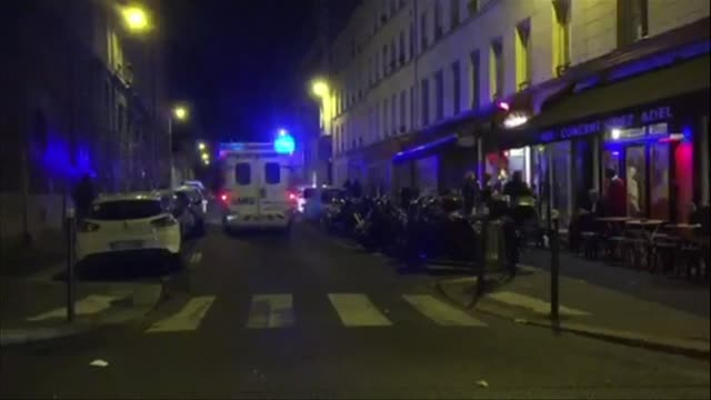 At least 18 people were killed as multiple shootings and explosions hit Paris Friday police said