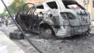 At least 5 people have been killed and 10 others injured in car bomb attack at the heart of Mogadishu